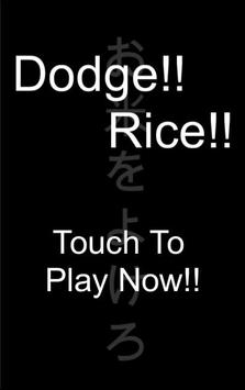 Dodge!Rice! poster