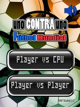 Uno Contra Uno Fútbol 2 Player poster