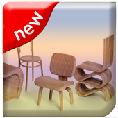 Wicker Chair Desing icon