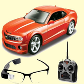 Toy Car 3D Game Remote Control Augmented Reality icon