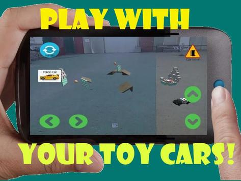 Toy Car 3D Game Remote Control Augmented Reality poster