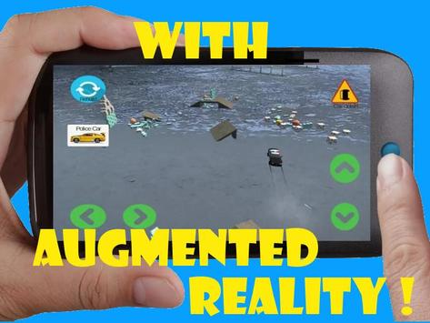 Toy Car 3D Game Remote Control Augmented Reality apk screenshot