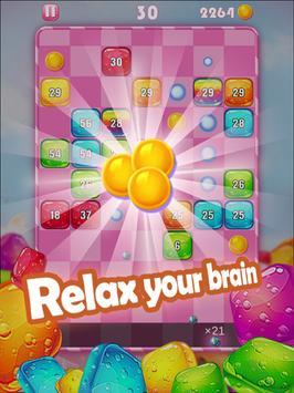 Ballz vs Sweet Cubes - Insanely brick breaker apk screenshot