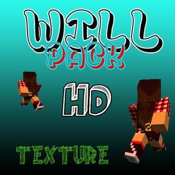 Will Pack HD Texture Pack mcpe apk screenshot