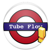 Tube Flow - London Tube Lines icon