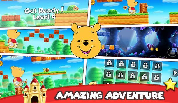 Winnie the Bear Go pooh apk screenshot