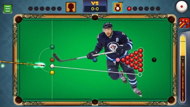 Billiards Winnipeg Jets Theme screenshot 3