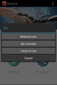 Winbond apk screenshot