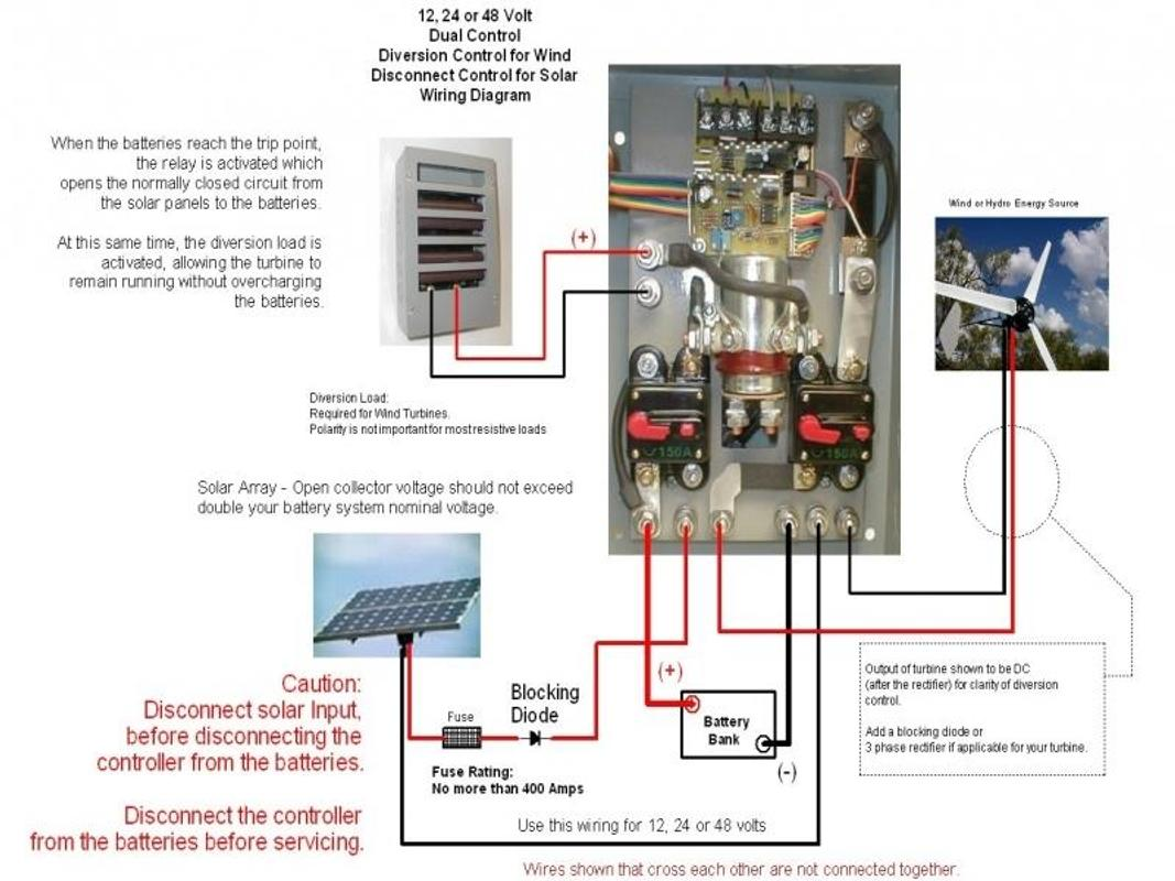 12 24 Rectifier Wiring Diagram Library Arctic Cat 650 V2 Wind Turbine Solar Panel Screenshot 3
