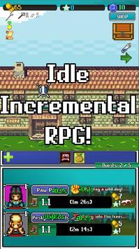 Idle Combat: Pixels poster