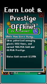 Idle Combat: Pixels screenshot 1