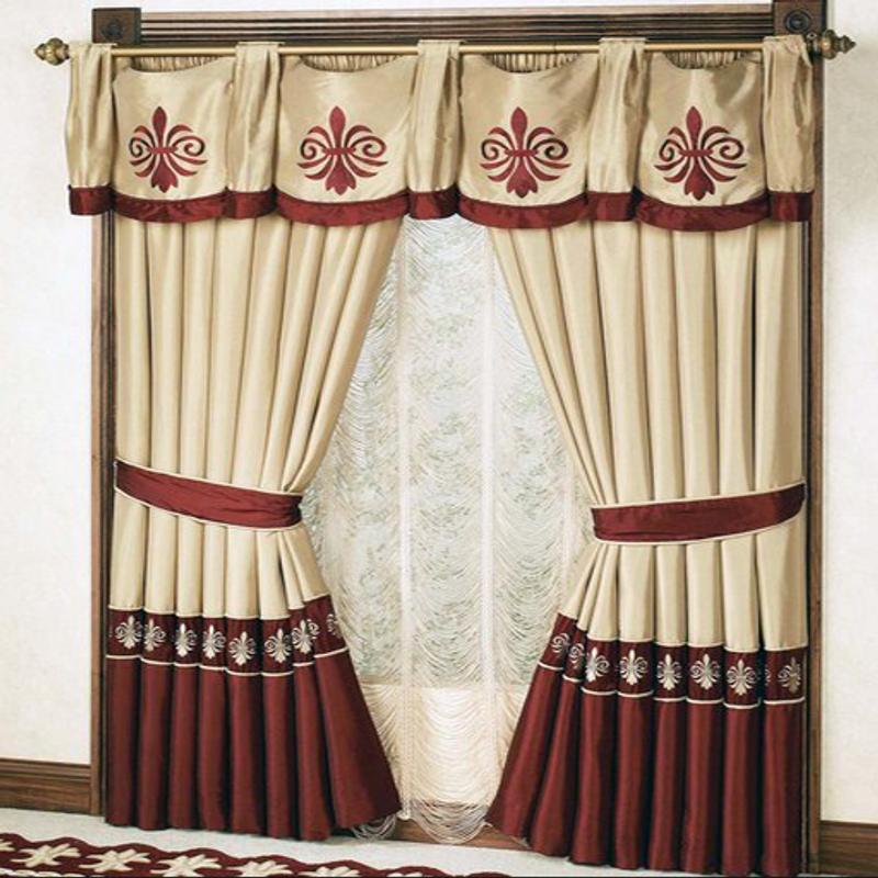 Window Curtains Cartaz Imagem De Tela 1