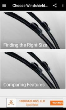 Choose Windshield Wiper Blades screenshot 1