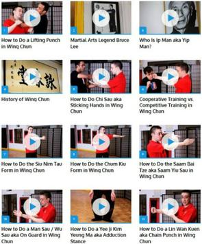 Wing Chun Lessons poster