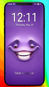 Happy Smile Faces Awsome Passcode Lock Screen poster