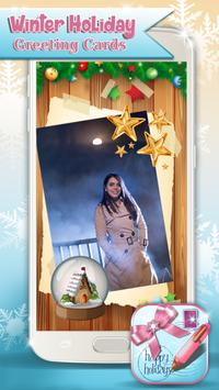 Winter Holiday Greeting Cards poster