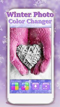 Winter Photo Color Changer screenshot 1
