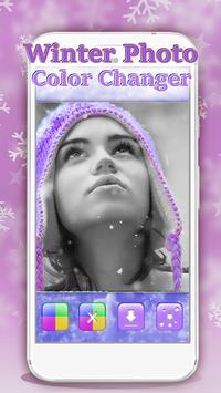 Winter Photo Color Changer screenshot 3