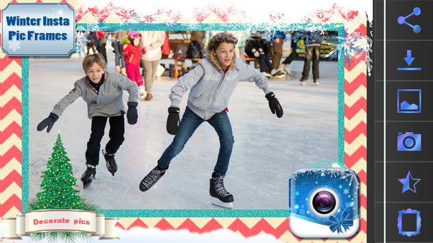 Winter Insta Pic Frames screenshot 1