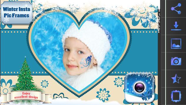Winter Insta Pic Frames screenshot 4