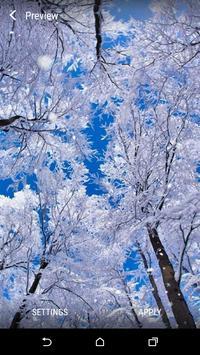 Winter Live Wallpaper apk screenshot