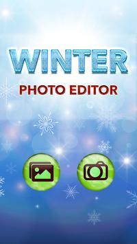 Winter Photo Editor poster