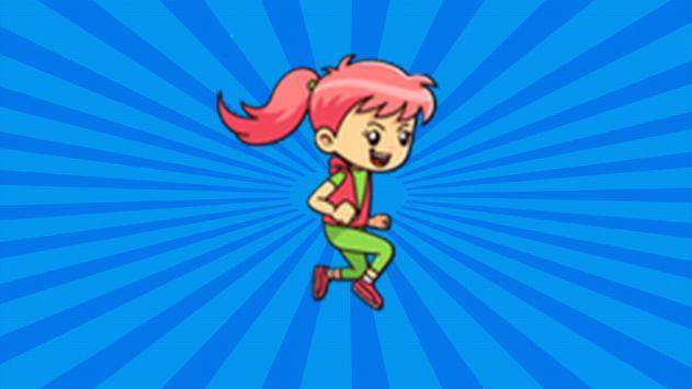Jubu on That Beat Run Chalenge apk screenshot