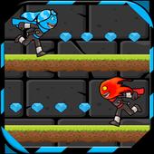 Fireboy Kill Watergirl Ninja icon