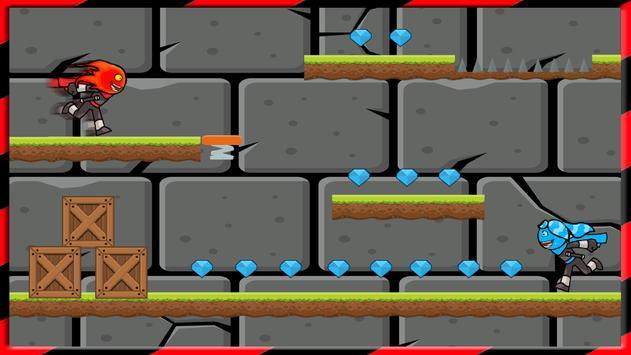 Fireboy Kill Watergirl Ninja apk screenshot