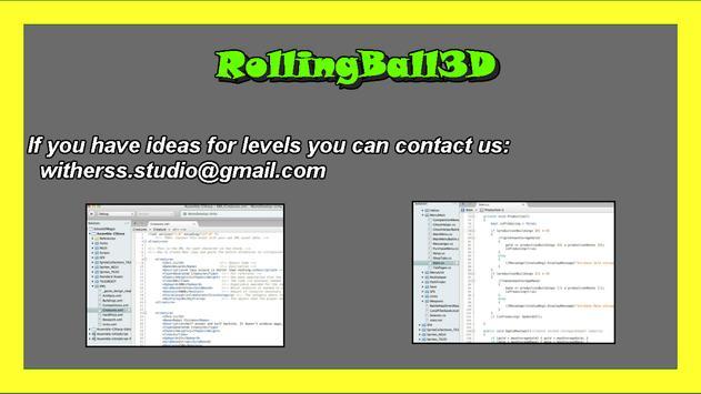 RollingBall3D apk screenshot
