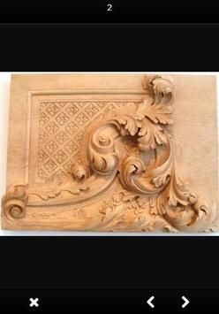 Wood Carving Art poster