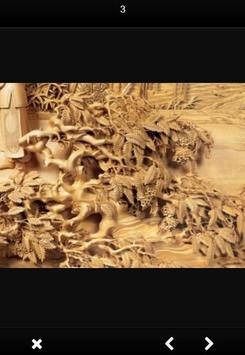Wood Carving Art screenshot 1