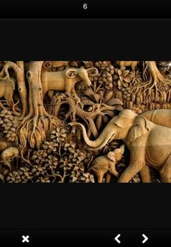 Wood Carving Art screenshot 30