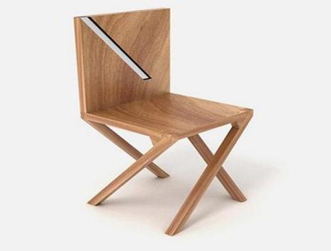 Wood Chair Design Ideas poster