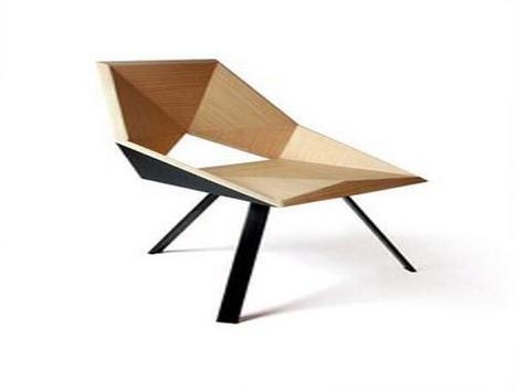 Wood Chair Design Ideas screenshot 1