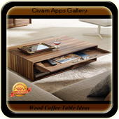 Wood Coffee Table Ideas icon