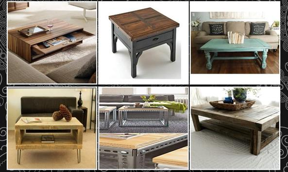 Wood Coffee Table Ideas screenshot 3