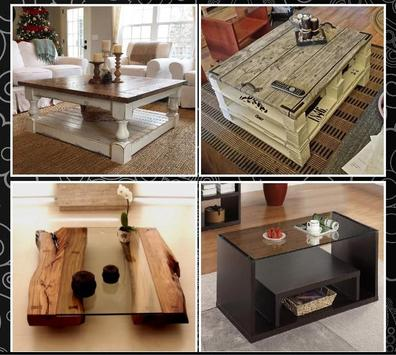 Wood Coffee Table Ideas screenshot 1