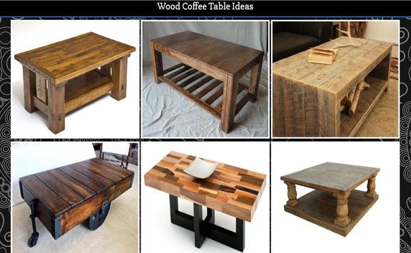 Wood Coffee Table Ideas screenshot 4