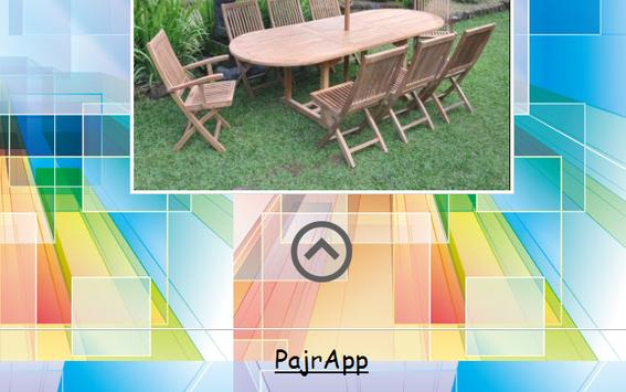 Wooden Chairs Design screenshot 3
