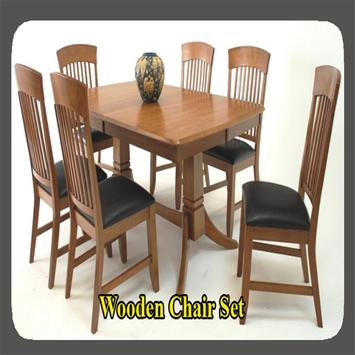 Wooden Chair Set apk screenshot