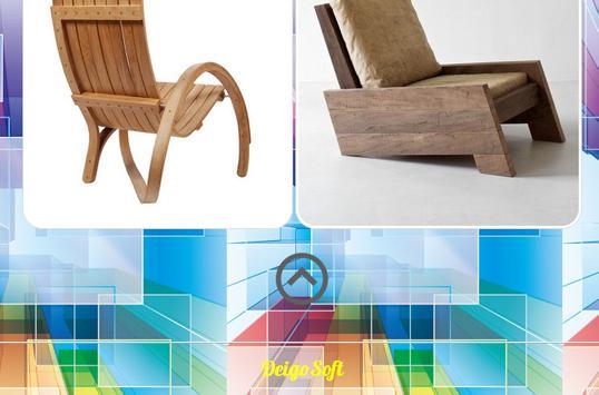 Wooden Chairs Design apk screenshot