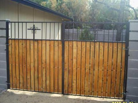 Wooden Gates poster