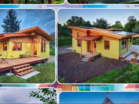 Wooden House Design screenshot 1
