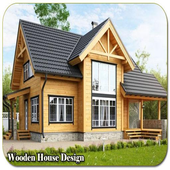 Wooden House Design icon