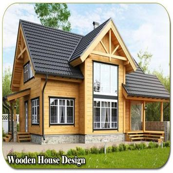 Wooden House Design poster