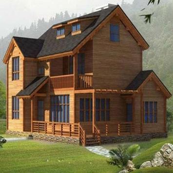 Wooden House Design screenshot 2