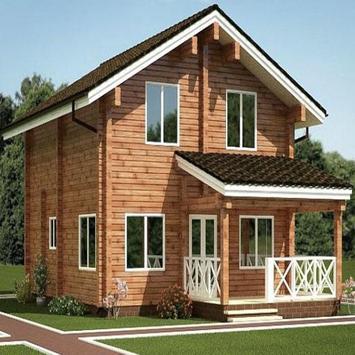 Wooden House Design screenshot 3