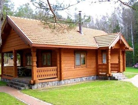 Wooden House Design screenshot 4
