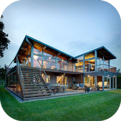 Wooden House Design icon